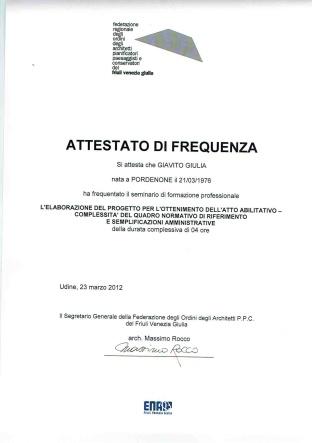 corso aggiornamento23marzo 2012 seminario formaz prof
